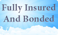 fully insured and bonded